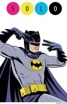 Batman '66 by Michael Allred