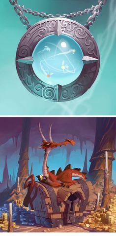 Great illustrations xavier-4 #dragon #illustration