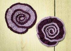 Spiral Flower Crochet Pattern   www.petalstopicots.com   #crochet