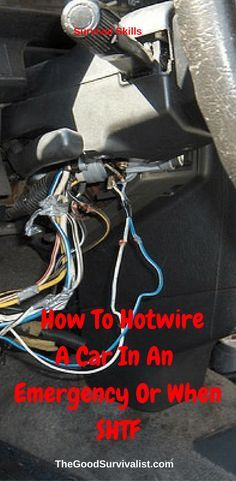 "Survival Skills-In the following video you will learn 2 different ways to hotwire a car. One is the ""screwdriver"" method, and the second is the ""hotwire"" method. Both could come in handy in an emergency or SHTF situation."