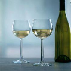 Kieliszki BURGUNDY do białego wina GRAND CRU - 2 szt. - DECO Salon. White wine glasses #rosendahl #wineaccessories #scandinaviandesign #giftidea #winelovers