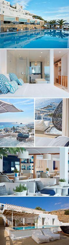 Het Griekse eiland Mykonos staat bekend om haar unieke mix van eeuwenoude tradities en luxe tegelijkertijd. Luxe krijg je zeker wanneer je verblijft in het vijfsterren Myconian Ambassador Hotel. Geniet vanuit dit stijlvolle hotel van een vakantie om nooit te vergeten.