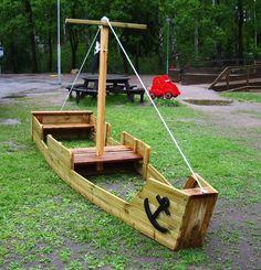 Stort piratskepp, Förskolan Duvan, Hannige