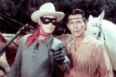 Clayton Moore - The Masked Man & Tonto