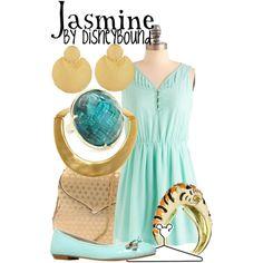 """Jasmine"" by lalakay on Polyvore #disney"