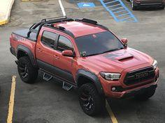 Tacoma Wheels, Tacoma Truck, Overland Tacoma, Overland Truck, Toyota Tacoma Trd Sport, Toyota Tundra, Trucks Only, Cool Trucks, Truck Mods