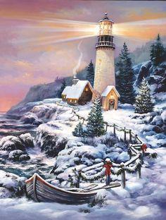 Snowy Path (300 Large Piece Puzzle by SunsOut)