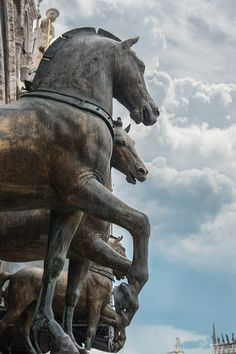 Horses of St. Mark by Caelin Harrington on 500px