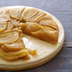 Apple Tarte Tatin    Simple and sweet, this French treat couldn't be easier to make. Other versions call for anywhere from one-half to an entire stick of butter—ours uses only 2 teaspoons, so you can dig in guilt-free.