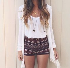 Style Tips and Ideas: Outfits con shorts cortitos ideales para el verano...