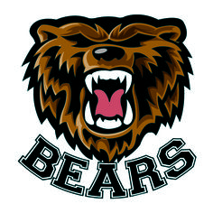 Teams with Bear Mascots | ... tattoo perfect for schools and sports teams of a bears mascot