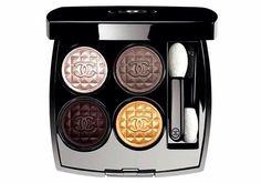 CHANEL ROUGE NOIR  NATALE 2015 Les 4 Ombres Signe Particulier  #manlioboutique WhatsApp 329.0010906 #makeup #christmas2015 #cosmetics