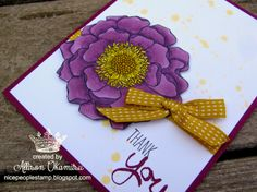 Wednesday, May 7, 2014 nice people STAMP!: Alcohol Markers: Blendabilities from Stampin' Up! & Blended Bloom, Work of Art