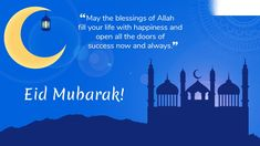May the magic of this holy festival bring unlimited happiness in your life and decorate it with the colors of heaven. Creative Thoughts Informatics Services Pvt Ltd. Eid Mubarak Status, Eid Mubarak Messages, Eid Mubarak Wallpaper, Eid Festival, Needy People, Adha Mubarak, Whatsapp Videos, Allah God, Hope In God