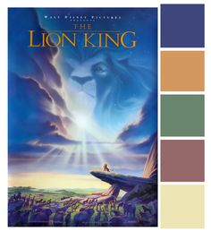 Poster Palette - The Lion King