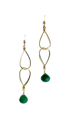 by Robyn Rhodes  Jessica Earrings - 14k Gold Filled