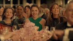Star quality: Spike Jonze's new perfume ad features The Leftovers star Margarey Qualley, pictured in the commerical, performing animalistic choreography in four-minute-long film