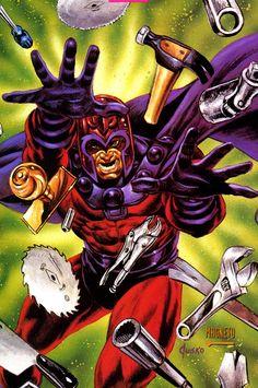Magneto by Joe Jusko Comic Book Artists, Comic Book Characters, Comic Character, Comic Books Art, Comic Art, Fictional Characters, Gambit Movie, New Mutants Movie, Marvel Comics Art
