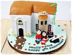 3rd marriage anniversary cake - Google Search