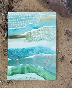 Art Journal Inspiration, Painting Inspiration, Art Inspo, Watercolor Techniques, Art Techniques, Watercolor Paintings, Art Paintings, Watercolors, Watercolor Pencils