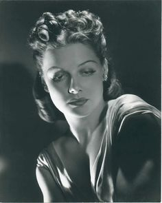 Ann SHERIDAN (1915-1967) * AFI Top Actress nominee, by George Hurrell, 1938. Notable Films: They Drive By Night (1940); Angels With Dirty Faces (1938); They Made Me a Criminal (1939); Dodge City (1939); Torrid Zone (1940); City for Conquest (1940); Kings Row (1942); George Washington Slept Here (1942); Edge of Darkness (1942); The Man Who Came to Dinner (1942); I Was a Male War Bride (1949)