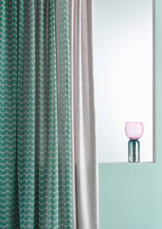 להשיג באורית טראוב המלך חירם 8, שוק הפשפשים תל-אביב יפו Paint Brands, Cool Tones, Curtain Fabric, Color Of The Year, Window Curtains, Shades Of Green, Windows, Interior, Modern