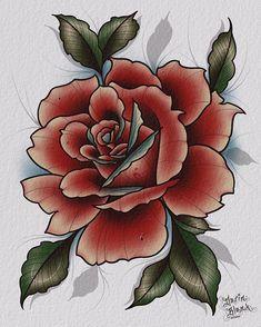 Instagram Rose Clock, Rose Tattoos, Tattoos For Women, Succulents, Plants, Tattoo Ideas, Instagram, Fan Art, Female Tattoos