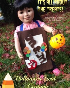 Adorable costume for dolls I want to make next year!
