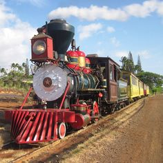 Blast from the Past? Travel by steam train along the majestic West Maui Mountains. Relax as panoramic views of Molokai & Lanai greet you and learn about Maui's rich history: www.sugarcanetrain.com
