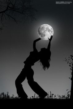 Girl Holding Moon by Marco Ciofalo Digispace on 500px