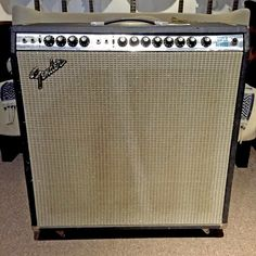 Fender Super Reverb 1974 Amp, 1967 Transformers, Late Speakers (Pre-Owned) (New Arrival) Transformers, Fender Guitar Amps, Vintage Guitars, Marshall Speaker, Music Stuff, Super, Speakers, Clarity, Gears