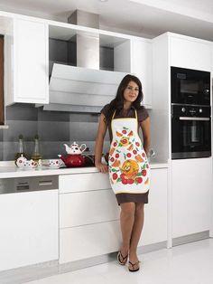 Фартук кухонный из хлопка и полиэстера KARNA DAMLA V4 от Karna (Турция) - купить по низкой цене в интернет магазине Домильфо