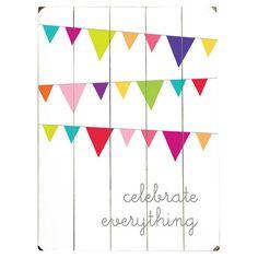 Wandkunst 'Celebration'