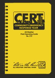 CERT All-Weather Field Operating Guide  Need these!
