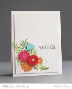 Desert Bouquet, Whimsical Wishes, Wild Greenery Die-namics - Melania Deasy #mftstamps