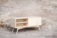 MEUBLE TV, ENFILADE, SIDEBOARD, ESPRIT VINTAGE, CRÉATION GENTLEMEN DESIGNERS MADE IN FRANCE http://www.gentlemen-designers.fr