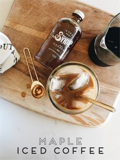 Well turns out today is National Coffee Day, so what better reason to share the best Fall iced coffee recipe & some of my favorite coffee s...