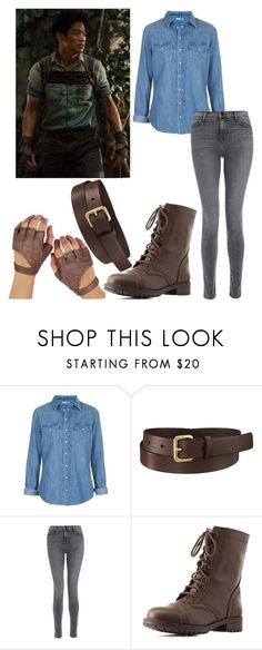 Designer Clothes, Shoes & Bags for Women Maze Runner Series, Inspired Outfits, Minho, J Brand, Uniqlo, Charlotte Russe, Topshop, Polyvore, Character