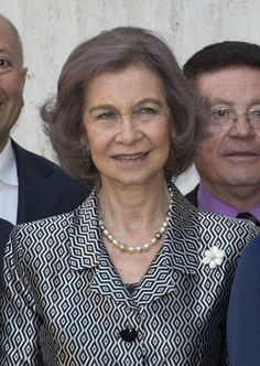 Queen Sofia presented the Hispania Nostra awards at the National Archaeological Museum of Spain in Madrid.