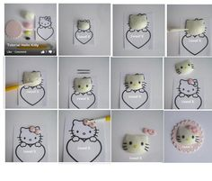 Hello kitty icing