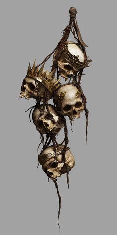 art by Yang Yang Skull Tattoos, Tatoos, Aztecas Art, Skull Reference, Totenkopf Tattoos, Arte Horror, Human Skull, Diy Halloween Decorations, Halloween Crafts
