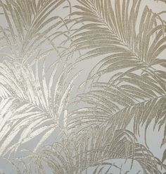 Kiss Foil Palm Leaf Cream Gold Part of the Arthouse Foil Wallpaper Collection. A Luxury High Quality Wallpaper. Non Woven Paste the Wall Wallpaper. Cream And Gold Wallpaper, Gold Metallic Wallpaper, Palm Leaf Wallpaper, Textured Wallpaper, Wallpaper Roll, Brown Wallpaper, Gold Luxury Wallpaper, Wallpaper Samsung, Chic Wallpaper