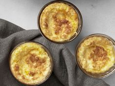 Cheese grits & corn pudding.