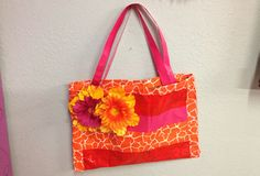 Summer Burst Purse by @Maya Murillo #ScotchStyle http://scotchducttape.com/projects/tote-bag