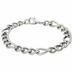 """Stainless Steel Link Bracelet (9"""") Stylejewelry http://www.amazon.com/dp/B004C1UOTK/ref=cm_sw_r_pi_dp_z9cVtb1TYC85FRX0"""