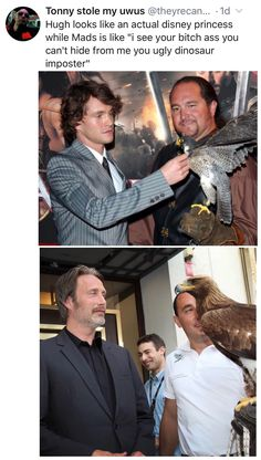 Hannibal Funny, Hannibal Tv Series, Nbc Hannibal, Hannibal Lecter, Will Graham Hannibal, Sherlock, Hugh Dancy, Harry Potter, Mads Mikkelsen