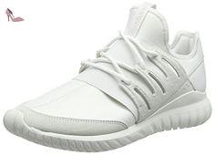 adidas Tubular Radial, Sneakers Hautes Mixte Adulte, Blanc (Crystal White/Crystal  White