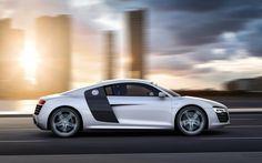 Cars audi roads r8 white v10 (1680x1050, audi, roads, white, v10)  via www.allwallpaper.in
