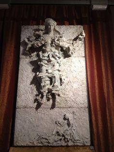 Lucio Fontana,  L'annunciata, Museo Diocesano