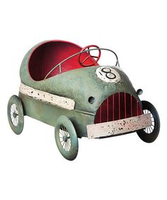 Love this Vintage Car Planter on #zulily! #zulilyfinds